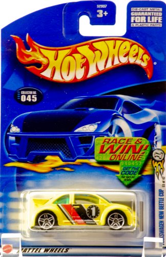 Hot Wheels 2002-045 First Editions Volkswagen New Beetle Cup 1:64 Scale