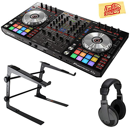Read About Pioneer DDJ-SX3 DJ Controller for Serato DJ Pro Bundle with Stand, Headphones, and Austin...