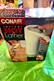 conair shaving machine - Conair Hot Lather Machine Shave Cream Warmer and Dispenser HLM10