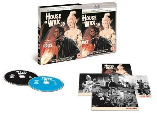 House of Wax 3D UK Bluray +Dvd + digital Download Exclusive The Premium Collection Extended Region Free