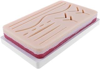 HOMYL Suture Practice Kit- Human Skin Wound Suture Pad Model Suturing Repeated Training School Teaching Tool