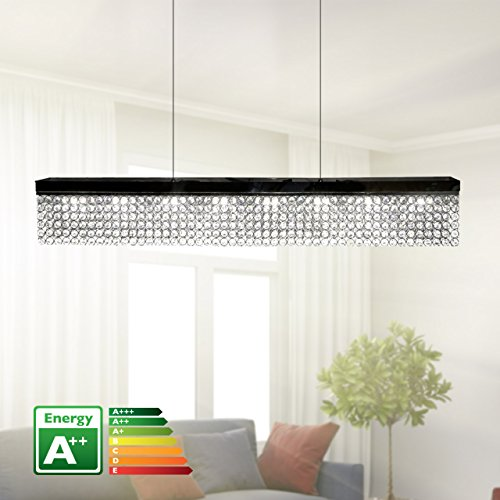 bedibuy Kristall Deckenleuchte/Tischleuchte LED Handgefertigt 100cm A++ AL-0054 Wohnen - Lüks Kristal Led Avize A++ 100 cm
