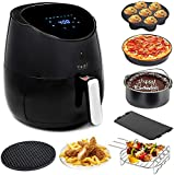 Yedi Total Package Air Fryer XL, 5.8 Quart, Deluxe Accessory Kit,...
