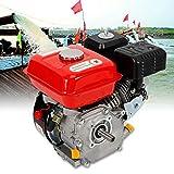 Oukaning - Motor de gasolina de 4 tiempos, retroceso / arranque eléctrico, motor industrial de 7,5...