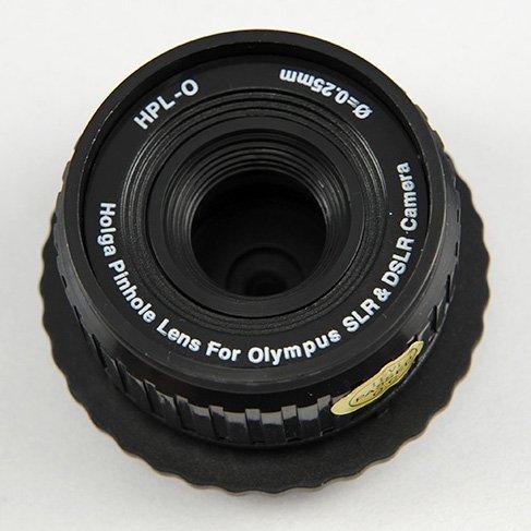 Lente estenopeica Holga HPL-S para lomografía digital (apta para cámaras DSLR de Olympus)