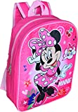 Minnie Mouse Girl's 15' Backpack (Pink)