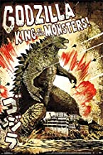 Rare Godzilla King of Monsters Movie Japanese Poster 24 in x 36 in Collectible