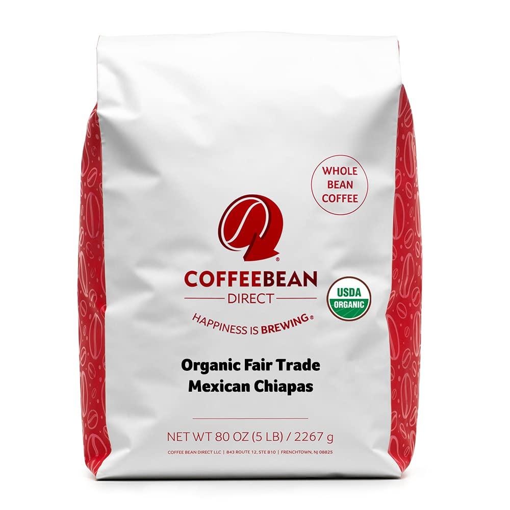 Coffee Bean Direct Organic Fair Max 75% OFF Fashion Chiapas Trade Whole Mexican Bea