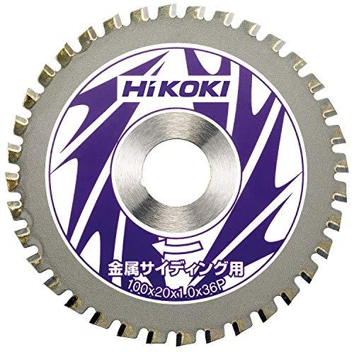 日立工機 ハイコーキ チップソー 金属サイディング用 100mm×20 36枚刃 00328544