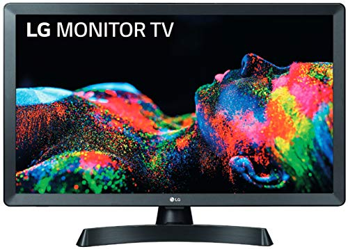 LG 28TL510S-PZ - Monitor Smart TV de 70cm (28') con Pantalla LED HD (1366x768, 16:9, DVB-T2/C/S2, WiFi, Miracast, USB...