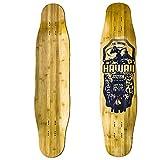 Station, Tabla Longboard Freestyle Freeride de Bambú y Fibra de Vidrio
