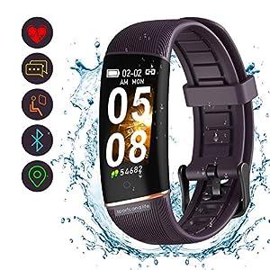 Byttron Fitness Tracker, Reloj Impermeable de Seguimiento de Actividad con Monitor de frecuencia cardíaca, Monitor de… 9