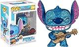 Lilo & Stitch Stitch with Ukulele Diamond Glitter Pop! Vinyl Figure - Entertainment Earth Exclusive