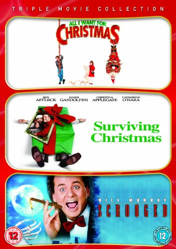 All I Want For Christmas / Surviving Christmas / Scrooged Triple Pack [DVD]