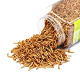 Sequoia Tasty Freeze Dried Mealworms Pet Worms Food for Chickens, Ducks, Parrot, Wild Birds, Lizard,Turtles, Hamsters, Fish, Chameleon and Hedgehogs (4 OZ)