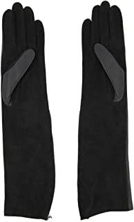 Luxury Fashion   Lanvin Womens AWGLAD1AZZIPH1410 Black Gloves   Season Permanent