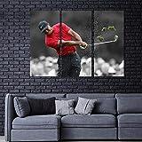 Gyybfhn Bilder Tiger Woods Master Gewinnt 2019 Wandbild 3
