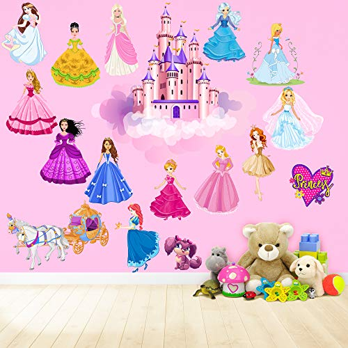 Princess Wall Decals for KidsRooms