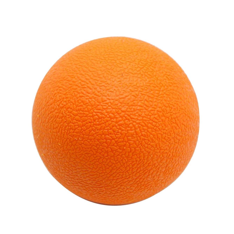 ミリメートルましい集計Baoblaze ラクロスボール マッサージボール トリガーポイント 筋膜リリース 背中 首 ツボ押しグッズ オレンジ