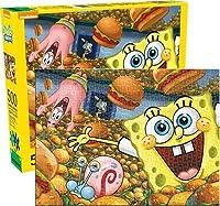 Nickelodeon(ニコロデオン)SpongeBob(スポンジ・ボブ)500 Piece Jigsaw Puzzle(ジグソーパズル) [並行輸入品]