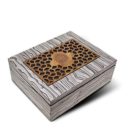 caja fruta madera fabricante Molienda Sagrada