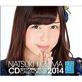 (卓上)AKB48 小嶋菜月 カレンダー 2014年