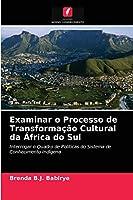 Examinar o Processo de Transformação Cultural da África do Sul