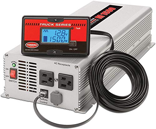 Tundra M Series - Power Inverter - Modified SINE Wave 2000W / 12 Volts DC to 120 Volts AC - M2000
