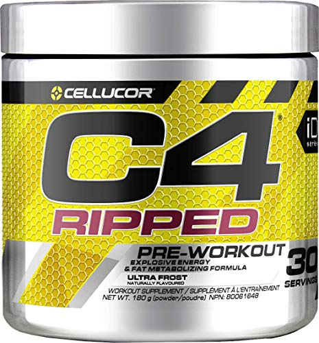 CELLUCOR C4 Ripped Ultra Frost 30 Serving Supplements