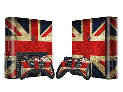 XBOX 360 E Skin Design Foils Pegatina Set - Union Jack Motivo