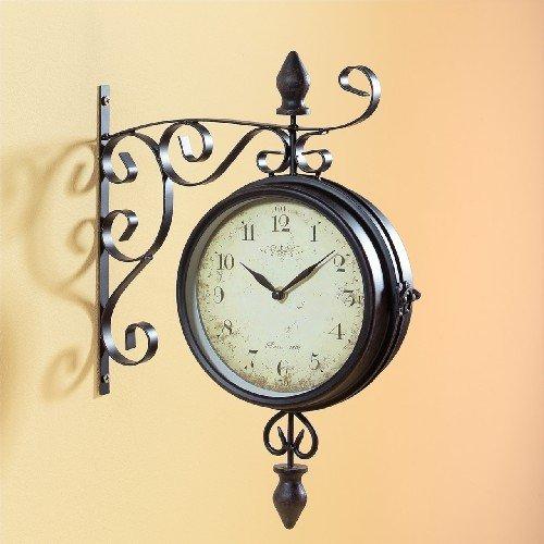 Pajoma 47929, Orologio da Parete Vintage, con quadrante su Entrambi i Lati,...