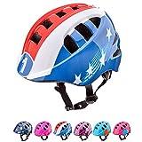 Casco Bicicleta Casco Biciclea Casco Bici Casco de Bicicleta para niños y jóvenes Casco MTB Carretera Ciclismo Skate Bicicleta patineta Patines monopatines MA-2 (S(48-52cm), Captain)