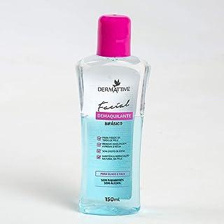 Dermattive Demaquilante Bifásico 150ml, Dermattive BR, Rosa Azul Trasnparente