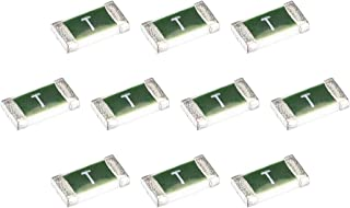 uxcell One Time 1206 SMD Fuse Surface Mount Chip Slow Blow Time Delay 72V 5A 10pcs