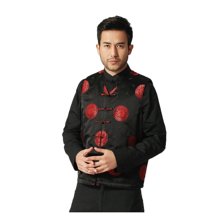 (ジ-ライク) G-like 春秋 唐装 民族衣装 メンズ タンクトップ 男性 コート 上着