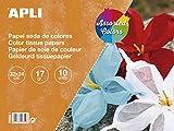 APLI 16652 - Bloc papel seda surtido 32 x 24 cm 10 hojas
