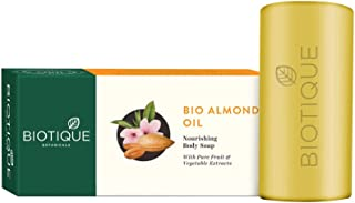 Biotique Almond Oil Nourishing Body Soap, 150g
