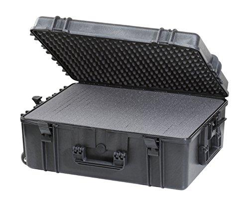 Max Max620H250S IP68 waterdichte duurzame waterdichte uitrusting fotografie met harde draaggreep kunststof transit val/pick en pluck schuimstof/flight case gereedschapskist,
