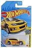 DieCast Hotwheels Subaru WRX STI, Speed Graphics 2/10 Ship in Kar Keeper [Yellow]