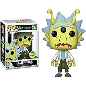 Funko Pop Rick Alienígena (Rick & Morty 337) Funko Pop Rick & Morty