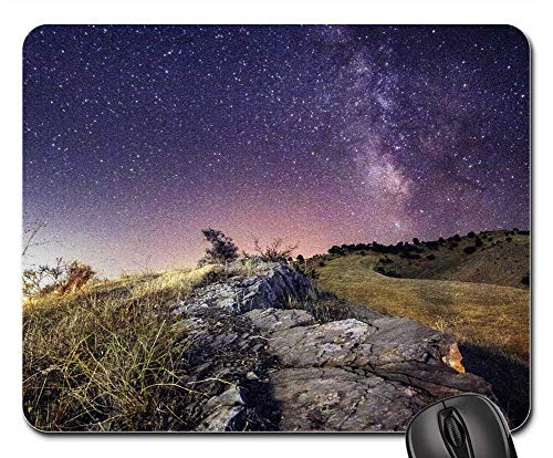 Mouse Pad - Milkyway Star Sky Space Universe Galaxy Night