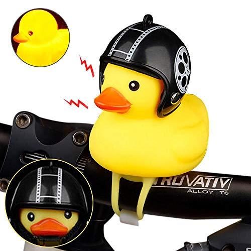 Hamkaw Fahrradhupe, gelbe Ente, Fahrradklingel, schöne Gummiente, Fahrradklingel für Fahrradlenker, Glocke D