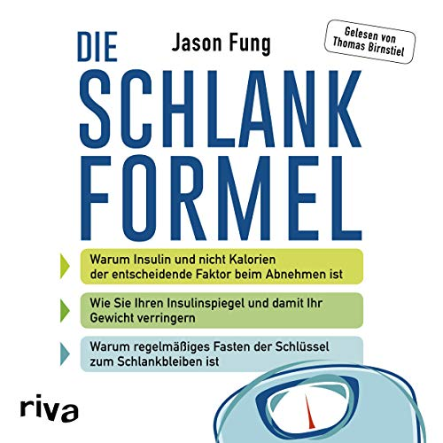 Die Schlankformel audiobook cover art