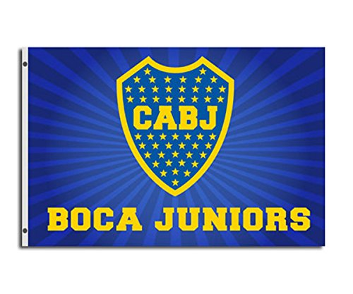 Boca Juniors Fahne (150x90cm) - One Size