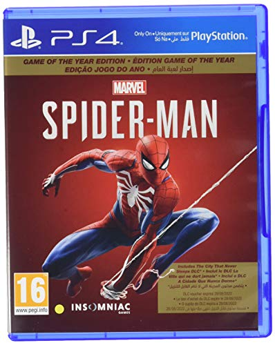 Marvel's Spider-Man - Game of The Year Edition PS4 [