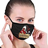 Roadkill Outdoor Breathable Washable Mask Unisex with Elastic Ear Loop Mask Black