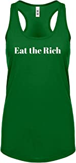 Eat The Rich Womens Racerback Tank Top