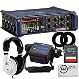 Zoom F8n Multi-Track Field Recorder + Deluxe Recording Bundle