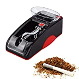 Pevor Electric Cigarette Injector Rolling Machine Tobacco Automatic Roller Maker, Red