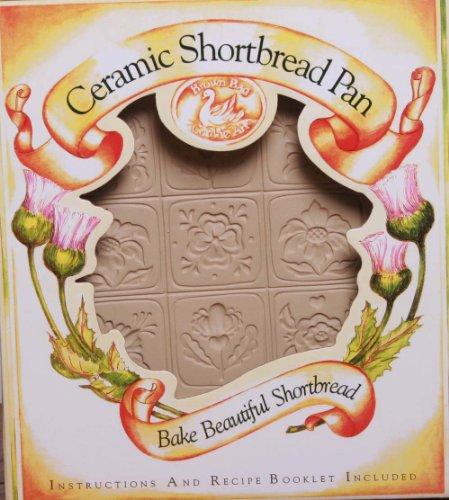 Brown Bag Design Alpine Flower Shortbread Cookie Pan, 11-Inch by 8-1/2-Inch
